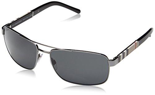 Burberry-Mens-BE-3081-Rectangular-Sunglasses