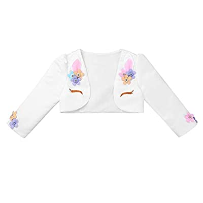 iiniim Girls Long Sleeves Bolero Jacket Shrug Short Cardigan Sweater Dress Cover Up : everything five pounds (or less!)