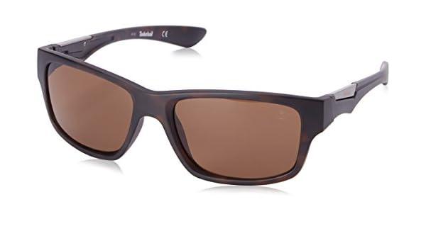 92f1c892ea5 Timberland TB9078 Sunglasses 56H Havana 57-19-140  Amazon.co.uk  Clothing