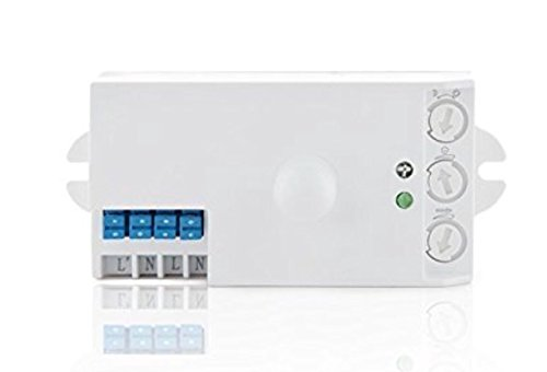 LA Sensor movimiento detector presencia microondas
