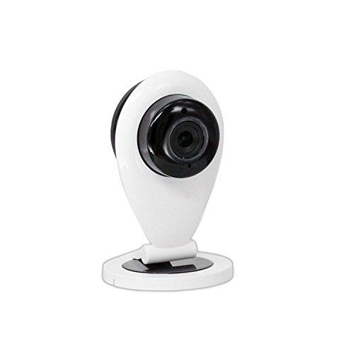 Sicherheitskamera Logitech Überwachungskamera Kabellos Mit Wifi Kamera Pro Dome Kamera PTZ 720P Wireless 1 Million Pixel Zwei-Wege-Audio, Nachtsicht, HD96Q Logitech Wi-fi Wireless