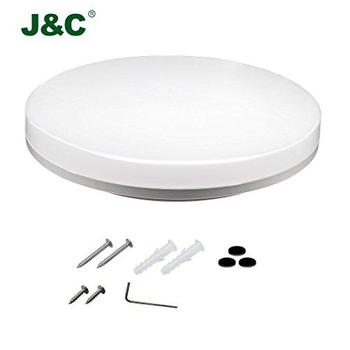 JNC-elegante-Design-24W-2050-LM-PC-da-incasso-rotonda-wetroom-lampada-a-LED-seminterrato-bagno-dilluminazione-di-ambienti-umidi-Neutral-White-4000-4500K-il-90-di-sconto-A
