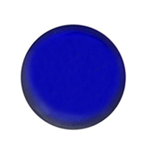 Studex Sensitive Neon Blau Neuheit Taste edelstahl Ohrstecker Ohrringe 5mm Fassung (Tiffany Blau Ohrstecker)