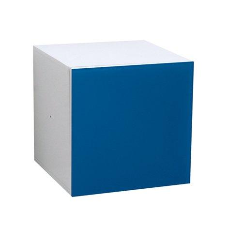 Phoenix 118820BL Leonardo - Türcontainer mit Glasfront (Sperrholz Couchtisch)