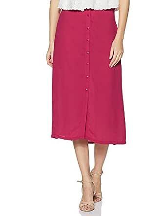 Amazon Brand - Eden & Ivy Women's A-Line Midi Skirt