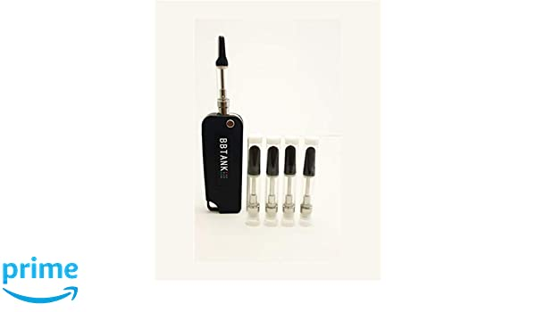 CBD Vape Kit Black Concealable VW 350mAh Key Box Upto 4 2v