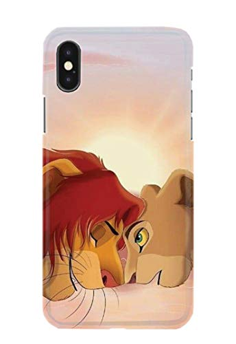 Case Me Up Handy Hülle für iPhone XS MAX Lion King Simba Mufasa Scar Timon Pumbaa Disney 21 Designs -