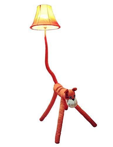 SED Lampe de Plancher de Style européen série Dessin animé Tissu Vertical lampadaire Salon Chambre Simple étude Moderne Salon Chambre lumières Tombantes - rétro lampadaire