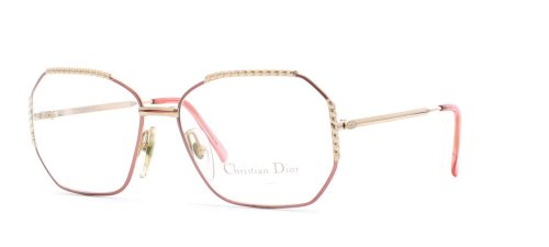 Christian Dior Damen Brillengestell rosa rose