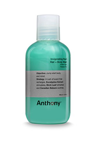 Anthony Logistics Invigorating Rush Hair + Body Wash 100ml