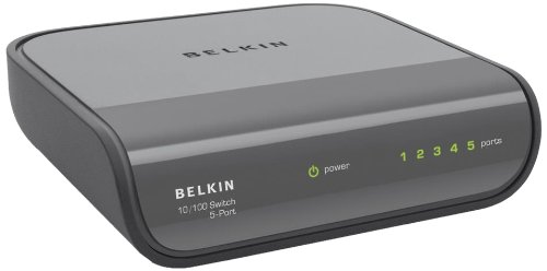 Belkin Netzwerk Switch (5-port) inkl. Netzteil schwarz