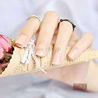 FARMERLY 2018 24pcs short paragraph new cute candy color hot buy fake fingernails complete 22 color Can choose: SN52