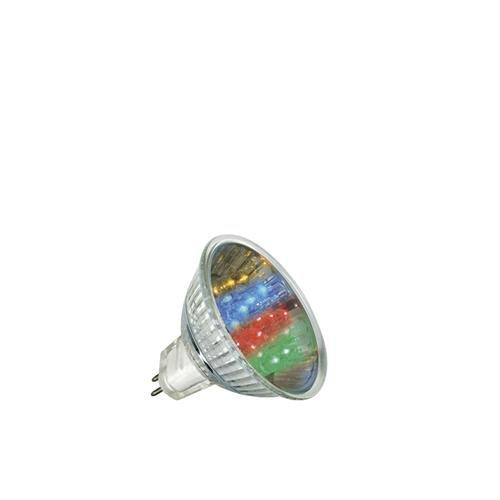 Paulmann LED GU5,3 1W Multicolor 7 Colors 12V 280.01
