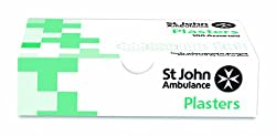 St John Ambulance Assorted Washproof Plasters - Pack of 100