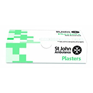 st john ambulance assorted washproof plasters - pack of 100