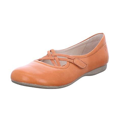 Josef Seibel Ballerina Fiona 39, Größe:39, Farbe:orange - Schuhe Ballerinas Orange Frauen