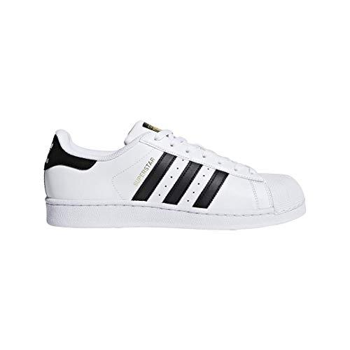 adidas Originals Superstar C77154, Scarpe da Ginnastica Unisex - Bambini, Bianco (Ftwr White/Core Black/Ftwr White), 38 2/3 EU