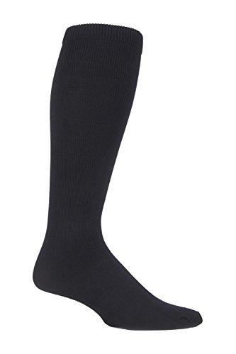 12 Hommes Gentle Grip Chaussettes Véritable non élastique Diabétique Soft Top Blanc Noir 6-11