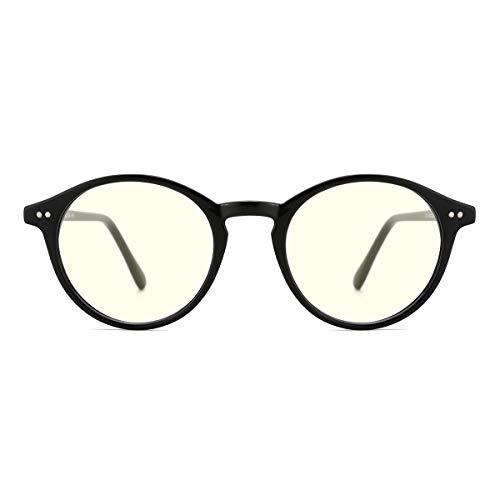 TIJN Blaue Licht Blockieren Brille Blaulichtfilter Brille Blueblocker Brille Anti-Blaulicht ohne sehstärke Computer Brillen