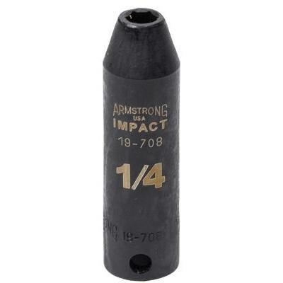3/8 Dr. Deep Impact Sockets - 5/16 deep impact socket3/8dr 6pt by Armstrong Tools -