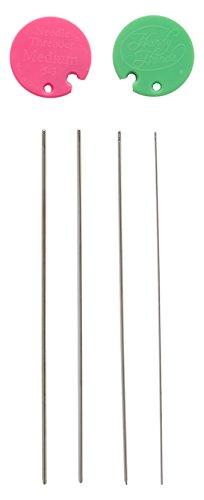 Handlich Hände Metall Occhi Nadeln für Thread-Set von 3
