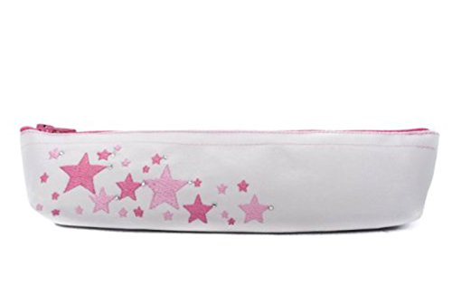 seek-unique-pink-star-cream-pencil-brush-bag