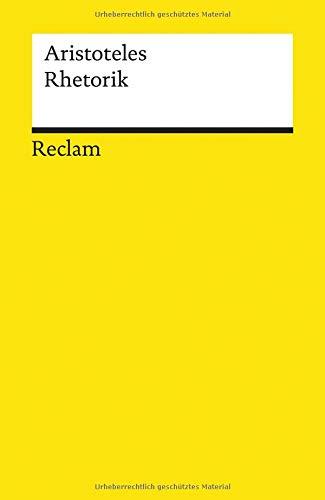 Rhetorik (Reclams Universal-Bibliothek)