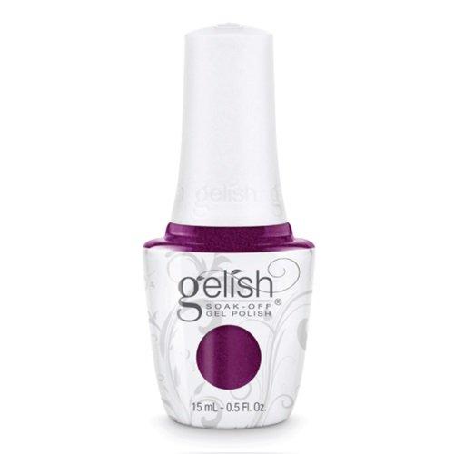 0.5 Unze Gel (Gelish Soak Off Gel Nagellack, schwarz cherry Berry, 0,5Unze von Gelish)