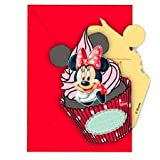 inviti Minnie,inviti Festa Minnie,12 inviti Minnie, inviti Compleanno Minnie ,Festa Minnie ,Decorazioni Minnie