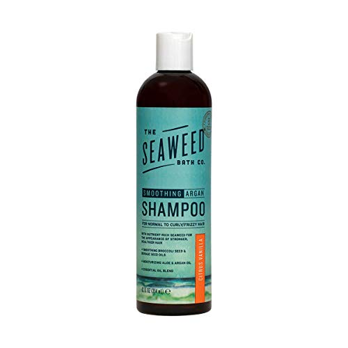 Lissage Argan Shampoo, Citrus Vanilla, 12 fl oz (360 ml) - Seaweed Bath Co.