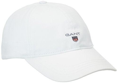 GANT Herren Baseball Cap 90000, Gr. One size, Weiß (WHITE 110)
