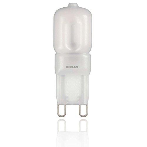 roblan ledskyg9b Ampoule G9, 2.5 W, Blanc