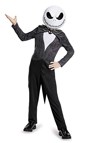 Disguise Jack Skellington Child Classic Nightmare Before Christmas Disney Costume, Large/10-12 by - Disney Jack Skellington Kostüm