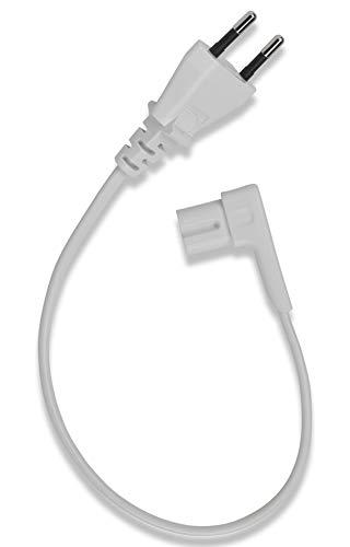 Flexson Short Netzkabel (0.35m) für SONOS Play 1 & SONOS ONE - Weiß