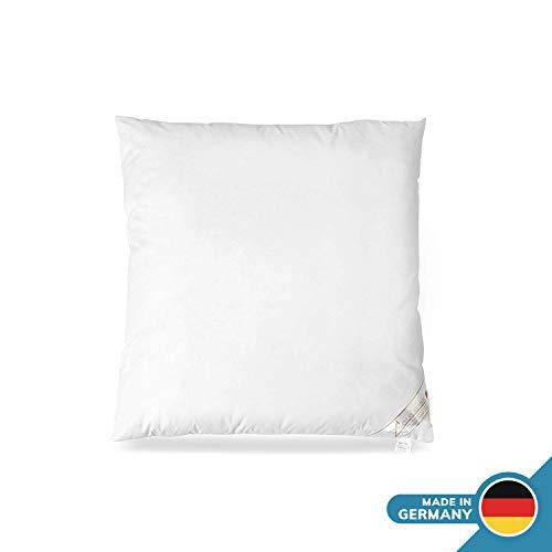 Apiando Evolon Allergiker Kopfkissen 80 x 80 cm, Antibakterielles Kissen, Milbenschutz für Hausstauballergiker, waschbar 95 Grad
