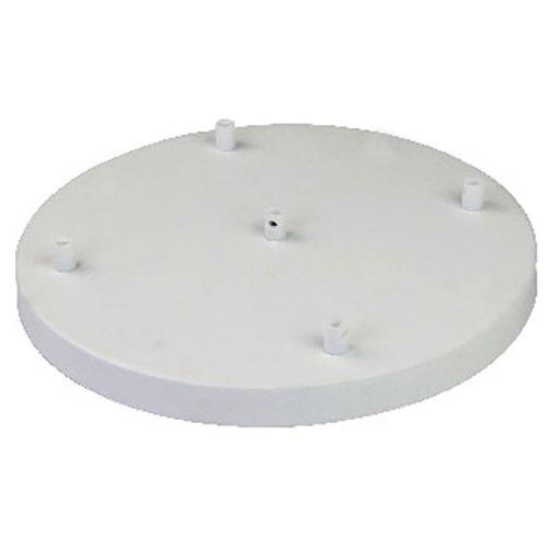 Girard Sudron 5-fach Metall Lampen Baldachin groß weiß Ø 300mm