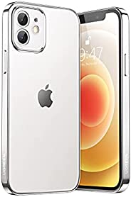 UGREEN Case compatible for Apple iPhone 12 Shock-Absorption Cover Anti-Scratch Clear Back