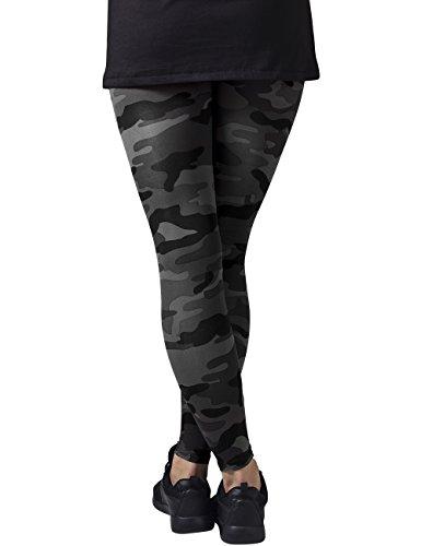 Urban Classics Damen Ladies Leggings, Mehrfarbig (Dark Camo 784) - 2