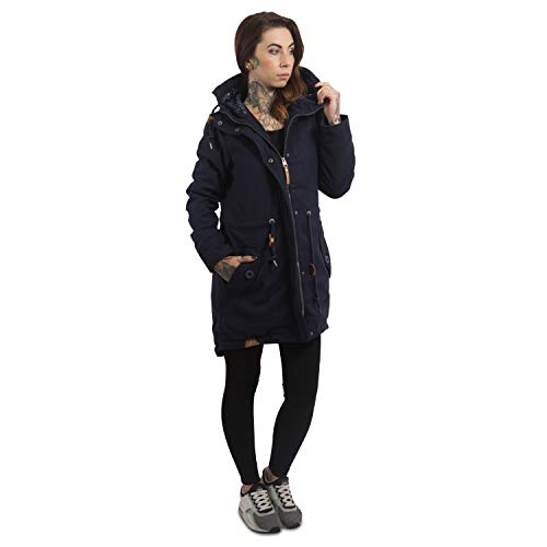 Ragwear Damen Wintermantel Parka Elba Coat A - 5