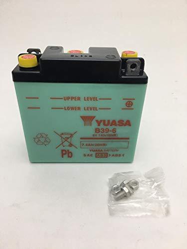 BATTERIA YUASA B39-6 6V 7AH MOTO GUZZI 125 cc STORNELLO SPORT 1C 4T