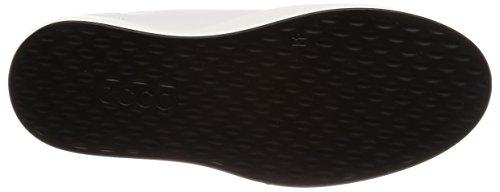 Ecco Herren Soft 8 Men's Hohe Sneaker Weiß (1007WHITE)