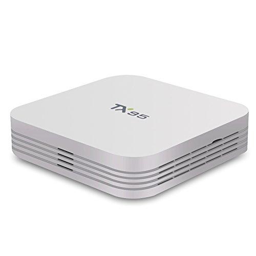 AKASO TX95 Android 6.0 TV Box, Quad Core 2G 16G Marshmallow 1000M LAN 3D 4K UHD Bluetooth 4.1 Dual WiFi Streaming Media Player