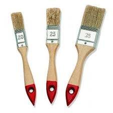Lasurpinsel,Lackpinsel, Malerpinsel-Set 3-tlg. 20/25/35 mm