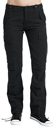 Brandit M65 Ladies Trouser Schwarz W29