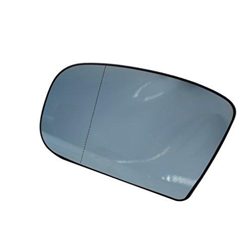 Meisijia Blau links Fahrerseite Spiegelheizung Heizung R¨¹ckspiegel Glas f¨¹r Mercedes Benz S-Klasse W220 1998-2002