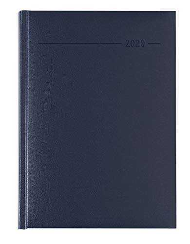 Agenda giornaliera 15x21 cm balacron blu 2020