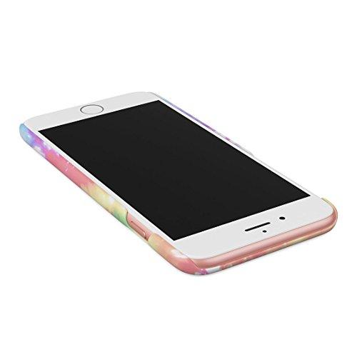 Good Vibes Only Trippy Tie Dye Dünne Rückschale aus Hartplastik für iPhone 6 Plus & iPhone 6s Plus Handy Hülle Schutzhülle Slim Fit Case cover Too Sassy