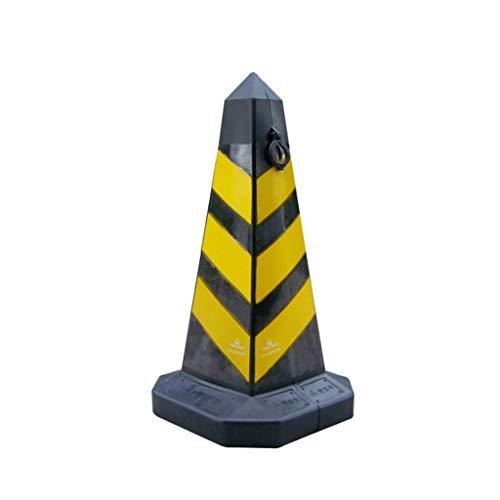DUOER HOME Arbeitsschutzausrüstung PE-Kunststoff-Sicherheitskegel reflektierende Verkehrsanlagen Straßensperre BAU Straße Kegel Obelisk Ringe Warnkegel (Größe : 68cm) (Kunststoff Bau-kegel)