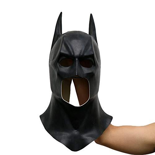 Batman Kostüm Muster - SEJNGF Batman Masken Halloween Vollgesichts Latex Batman Muster Maske Kostüm Party Masken Karneval Cosplay Requisiten