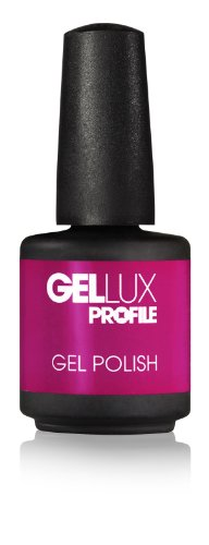 Salon System Gel à ongle Gellux Profile Magenta Rocks 15 ml